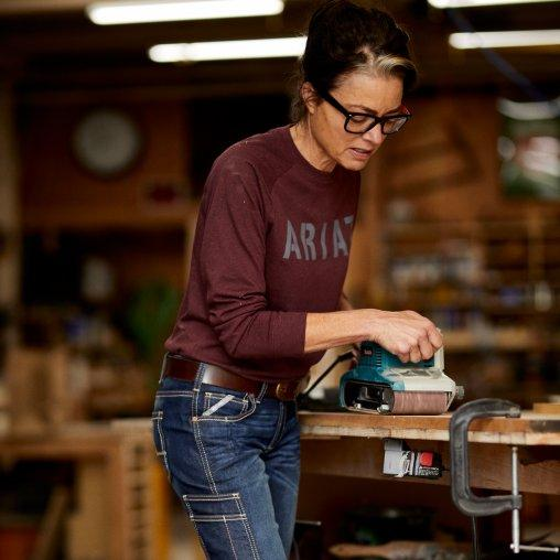 Sourcing Journal Highlights Ariat's New Denim Workwear Collection for Women