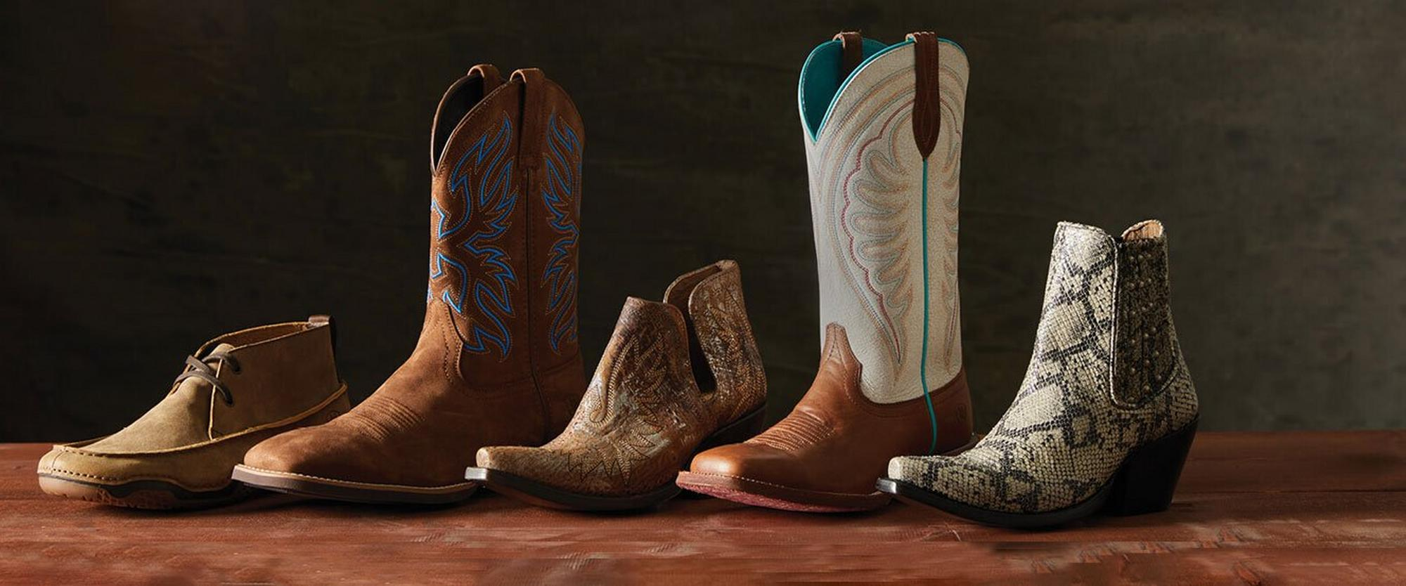 Ariat Western Shoes and Boots