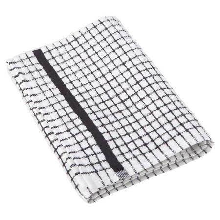 Poli Dri Tea Towel Black