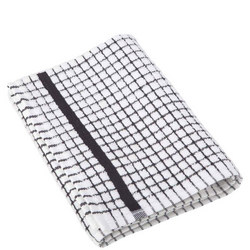 Poli Dri Tea Towel Black