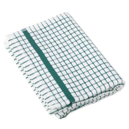 Poli Dri Tea Towel Dark Green