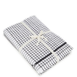 5 Pack Tea Towel Bale Black