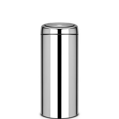 Touch Bin 30 Litre Brilliant Steel