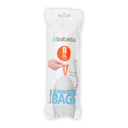 Waste Bags 311741 White 5 Litre