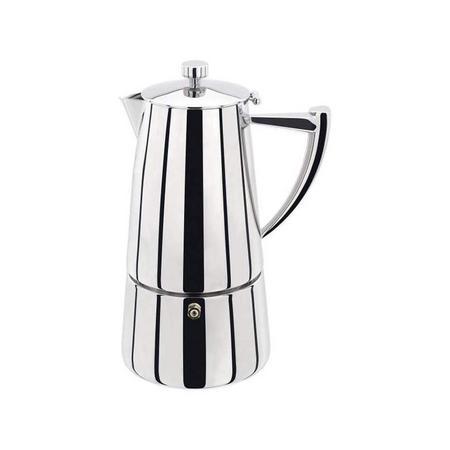 Art Deco Range 6 Cup Espresso Maker
