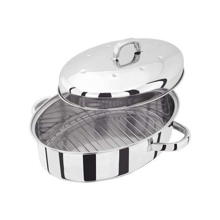 Roaster Oval 36 Cm Stainless Steel