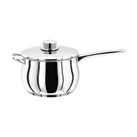Deep Saucepan With Helper Handle 16Cm Stainless Steel