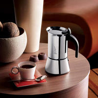 Venus Two Cup Stainless Steel Espresso Maker