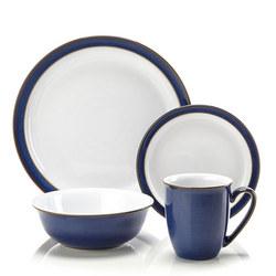 Imperial Blue 16 Piece Dinner Set
