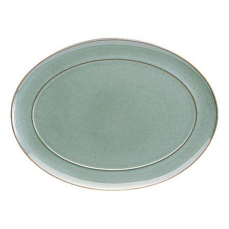Regency Green Oval Platter