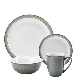 Regency Green 16 Piece Dinner Set