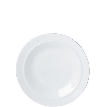 White Tea Plate