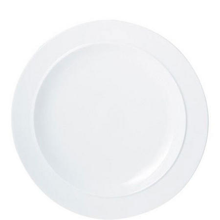 White Gourmet Plate