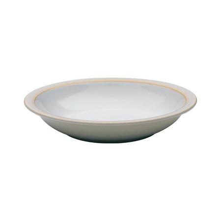 Linen Rimmed Bowl
