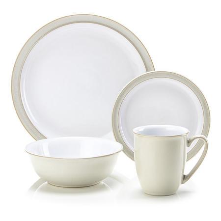 Linen 16-Piece Dinner Set