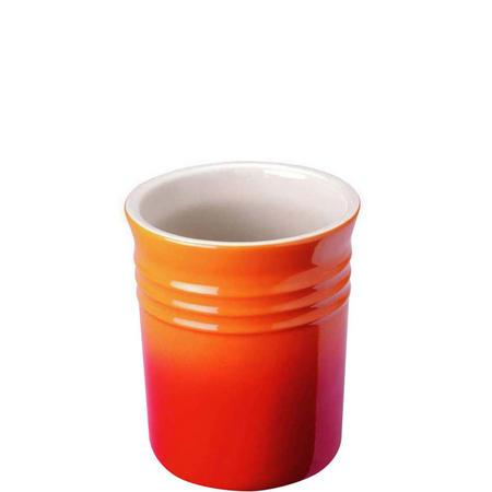 Volcanic Stoneware Utensil Jar Small