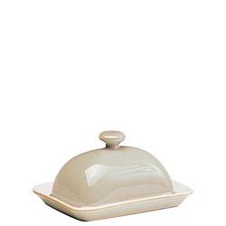 Linen Butter Dish Beige