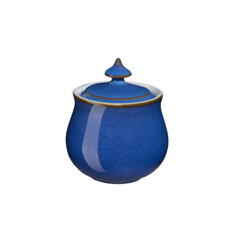 Imperial Blue Covered Sugar Bowl 200g Blue