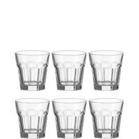 Rock Tumblers 25cl 6 Piece Clear
