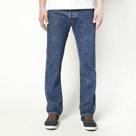 501 Original Fit Jeans Mid Wash Blue