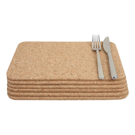 Cork Rectangular Table Mats