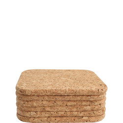 Cork Square Coasters