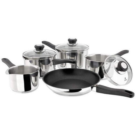 J3C1 Saucepan 5 Piece Set