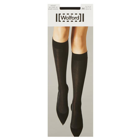 Velvet De Luxe 50 Knee High Socks Black