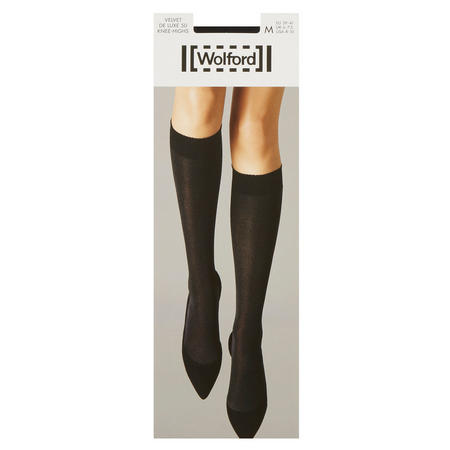 Velvet De Luxe 50 Knee High Socks Dark Blue