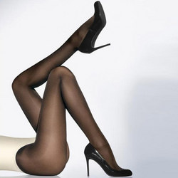 Satin Opaque 50 Tights Black