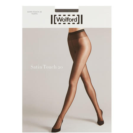 Satin Touch 20 Tights Silver