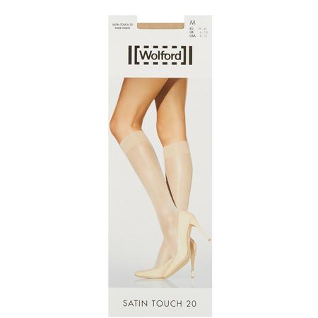 Satin Touch 20 Knee High Socks Skin