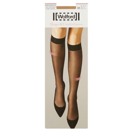 Pure Energy 30 Leg Vitalizer Knee High Socks Tan