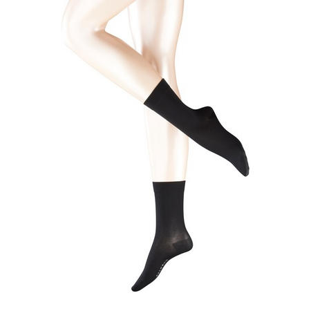 Cotton Touch Ankle Socks Black