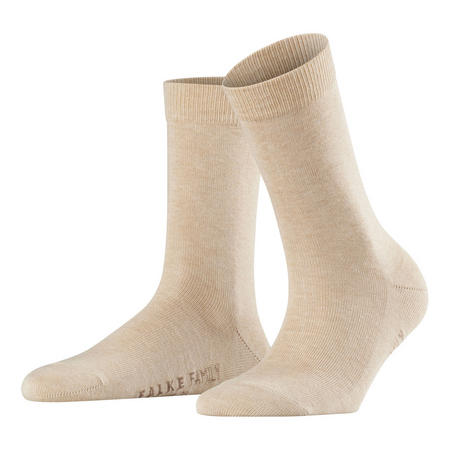 Family Ankle Socks Beige