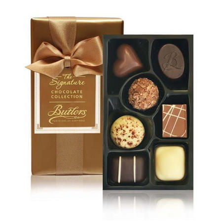 Gift Wrapped Ballotin with 7 Chocolates