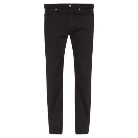 501 Straight Jeans Black