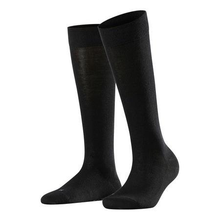 Sensitive London Knee High Socks Black