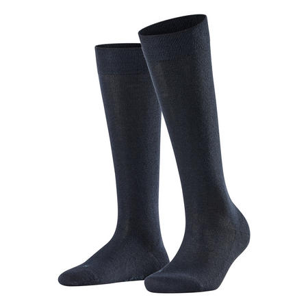 Sensitive London Knee High Socks Navy