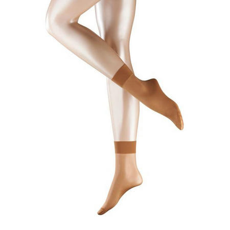 15 Denier Ankle Socks Brown