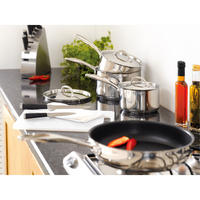 S7C1D Draining Lid Saucepan Set of 5