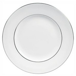 Vera Wang Blanc Sur Blanc ?Plate 27 cm