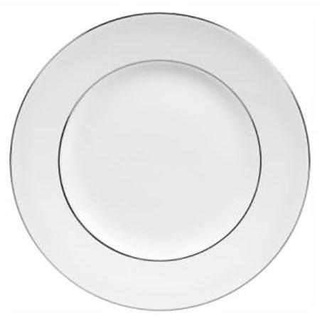 Vera Wang Blanc Sur Blanc Plate 20 cm
