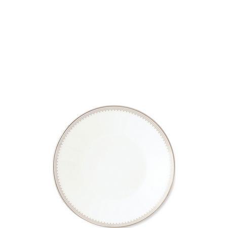 Vera Wang Grosgrain Tea Saucer Silver-Tone