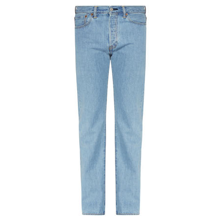 501 Straight Fit Jeans Light Blue Wash