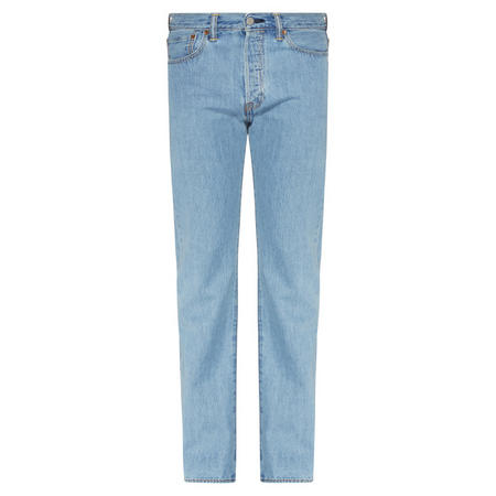 501 Straight Fit Jeans Light Wash Blue