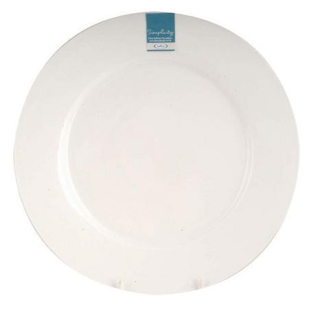 Dema Simplicity 27cm Rimmed Dinner Plate