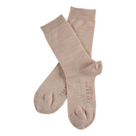 Soft Merino Socks Beige