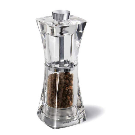 Crystal Precision Pepper Mill 12.5 Cm