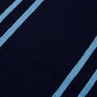 Navy Acrylic striped School Scarf